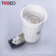 Pressing metal lamp holder gu10 recessed cutting 85mm down light housing fixture