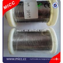 MICC calentador eléctrico alambre de nicromo elementos de calentamiento