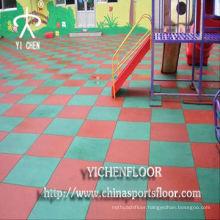 EPDM Rubber Granules Rubber Floor Mat Roll Floor
