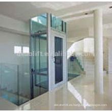 Buen ascensor Villa con cristal de seguridad