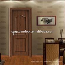 Conception de maisons en bois, design de porte en bois mian, design de porte d'entrée