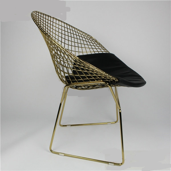 wire mesh dining chair