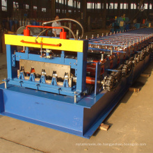 Heißer verkauf russland typ verzinkt machen kalten stahlblech blechboden terrassendielen kaltwalzformmaschine für stahlhaus
