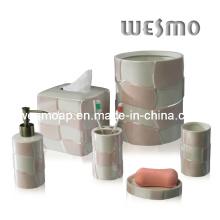 Conjunto de baño de porcelana de grado superior (WBC0470A)