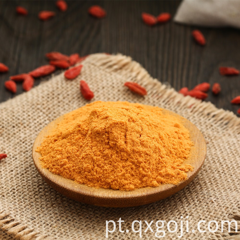 Certified Spraying-drying Goji Berry Powder