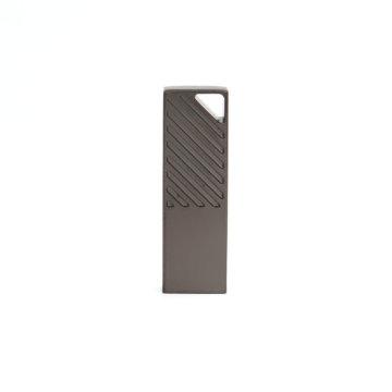 Factory Wholesale Silver Zinc Alloy USB Stick