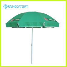 Adjustable Sunshade Outdoor Printed Beach Umbrella