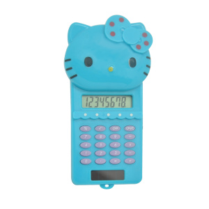 Karikatür Hello Kitty Shape Sliding Calculator
