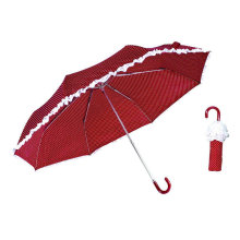 Skirt Print 3 Fold Aluminum Light Umbrella (YS-3FM21083948R)