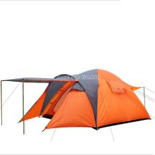 Outdoors One-Bedroom Orange Tent, Double Layer 4 Season Tent