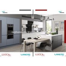 Auto-gabinete de cozinha de Idéia de Luxo lacado Lacado Mdf Mdf