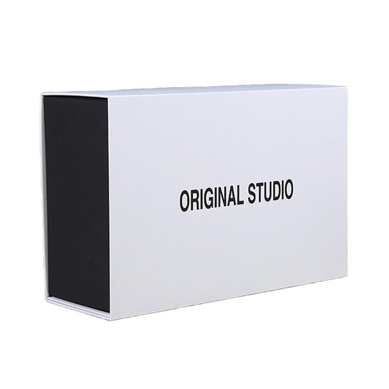 White Paper Foldable Gift Box