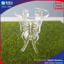 PMMA Material Clear Acrylic Candle Stick Display
