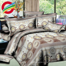 high quality 100% cotton printed bed sheet set for fabric