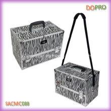 Padrões Zebra Atacado Professional Train caixa de maquiagem caso (SACMC088)