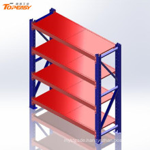 metal storage warehouse boltless steel shelf