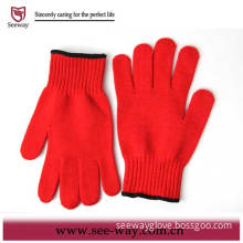 Red Oven Gloves (SW-201)