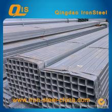 Tuyau d'acier carré galvanisé de 60 mm x 60 mm