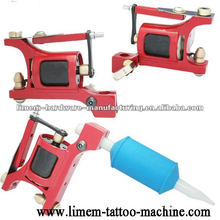 Aluminum hybrid hyper Rotary Tattoo red motor Machine imported mortor