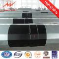 25FT Bitumen 69kv Steel Distribution Pole