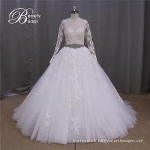 Ak041 vente chaude Plus taille mariée mariage robe 2016