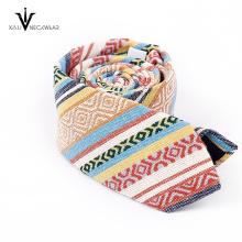 Last Fashion Woven Silk Mens Printed Necktie