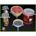 Halten von Lebensmitteln frisch BPA-freie Silikon Deckel