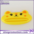 Custom Cute Children Automatic Toothpaste Dispenser with Chrome