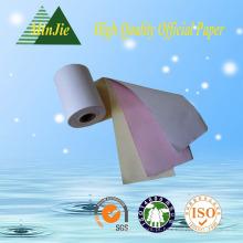 100% de polpa de madeira Excelente qualidade 3 Ply Carbonless NCR papel