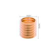 Bomba de crimpagem de plástico fácil de 15 mm com colar