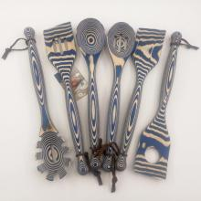 Кухонные инструменты Pakkawood 6 шт.
