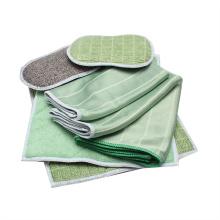 Nova toalha de limpeza de microfibra barata em bambu