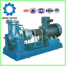 Self-priming centrifugal sucking hot oil pump