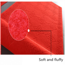 Factory Directly emboss logo top quality carpet