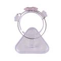 Bracelet d'hexagone de guérison en pierre de quartz rose naturel de gros