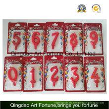 Heißer Verkaufs-Geburtstag und Partei-Kuchen-Kerze --Number Form-Kerze