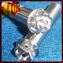 M10X1.25X25mm Gr-5 Titanium Hex Bolts for Sale