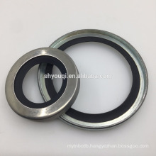 wheel back oil shaft seal with high performance