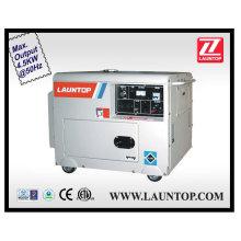 4,5 кВт бесшумный дизельный генератор