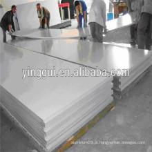 6463A folha de alumínio anodizado preto