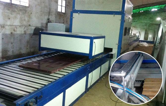Wood Spraying Production Line