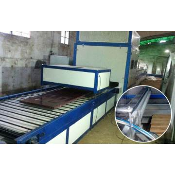 Electric heating paint room spray back electric oven