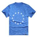 Factory OEM Men Printing T-Shirts Cotton 2017 Round Neck T-Shirts