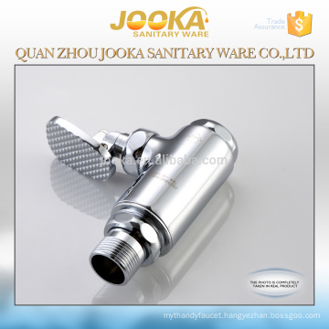 Water saving pedal control toilet urinal flush valve