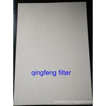 Membrana de fibra de vidrio para filtro de aire