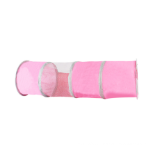 Outdoor Training Interactive Pink Play Toy For Cat Unique Pet Tunnel