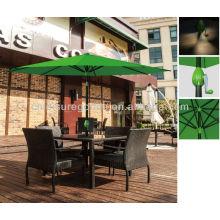Parapluie de marché en plein air patio carré carré