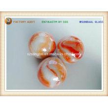 Boule de marbre/verre torsadée boule marbre/verre