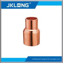 J9002 Acoplamento de cobre com batente rolou acoplamento de cobre de 1 polegada