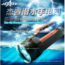 3500lm OEM Fabrik professionelle Aluminium LED-Taschenlampe